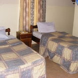 Twin room with twin beds