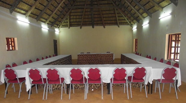 Conference facility at Limbo Lodge, Livingstone